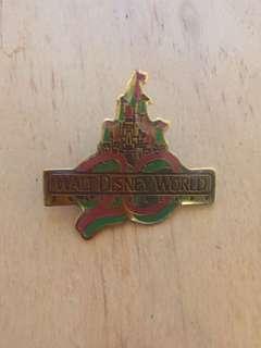 Vintage Walt Disney World 20th Anniversary Pin circa 1991