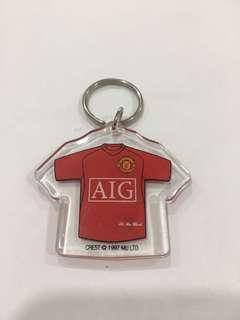 MUFC Official Merchandise - Rooney 10 Key Chain