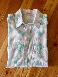 Frangipani floral shirt