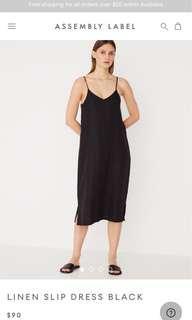 Assembly The Label linen slip dress