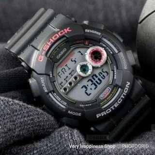 """GD-100-1A, GD-100-1B卡西歐品牌手錶""""Casio""""""""G-Shock""""日本機芯一年保養"""