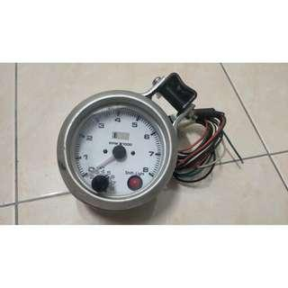 Auto Gauge RPM With Shift Light