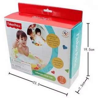 Inflatable bath fisher price #momjualan #jualanibu