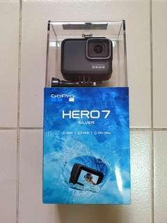 Unopened GoPro Hero 7 Silver