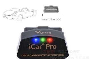 Icar pro 藍芽/wifi連接檢查行車習慣狀況