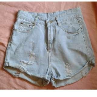 highwaist mom shorts