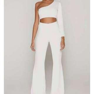 TAMMY HEMBROW WHITE 2 PIECE SET