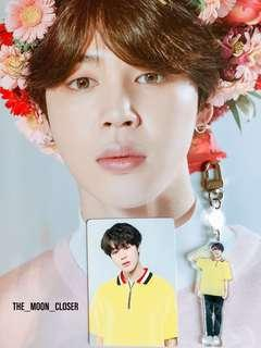 [ LF ] BTS LYS Japan passport cover, pc and keyring