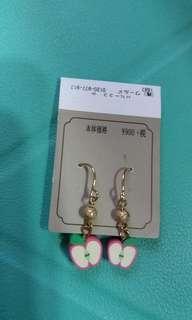 日本超可愛耳環一對(包平郵)