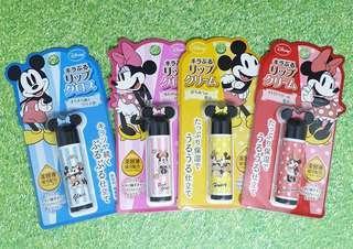 🚚 💋日本限定廸士尼造型保濕光潤護唇膏💋