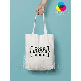 Personalized Customized Canvas Tote Bag