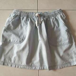 Soft jeans skirt