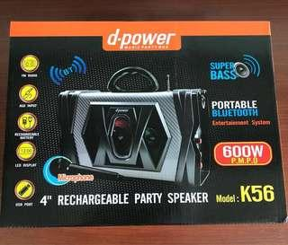 D-Power Music Party Box