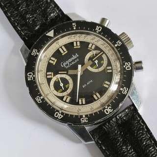 Vintage GIGANDET (WALKMANN) BIG BOY Diver's Chronograph Watch (Landeron cal. 248)