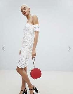 🚚 BNWT Lace Midi Dress from ASOS