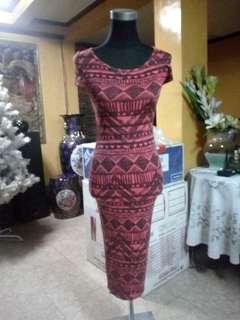 New look sexy body shape dress