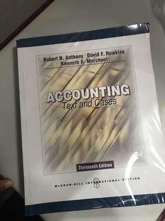 Accounting Text And Cases 13th Ed