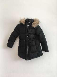 Zara black down jacket size 9/10
