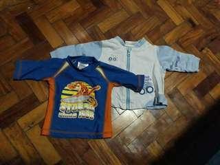 Baby rashguard & jacket