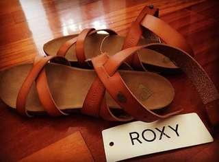 ROXY slippers leather