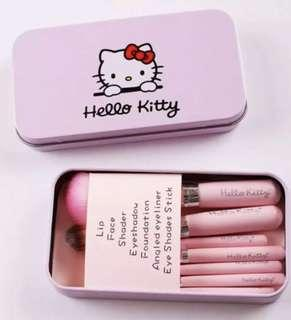 Hello Kitty 7PC Mini Brush Set