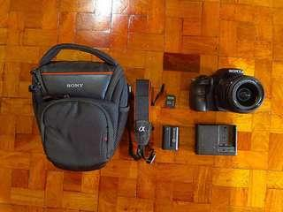 Sony SLT A58 | 20mp with HD video
