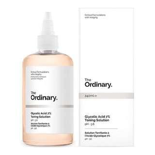 The Ordinary Glycolic Toner Solution (Trial pack)