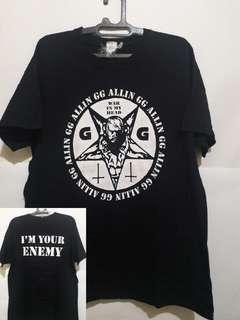 Kaos Band GG Allin (Official Merchandise)