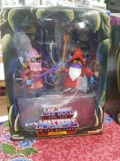 Motuc mattel masters of the universe super 7 classics filmation powercon power con dree elle and uncle montork
