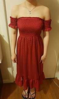 Flowy Off Shoulder Dresses