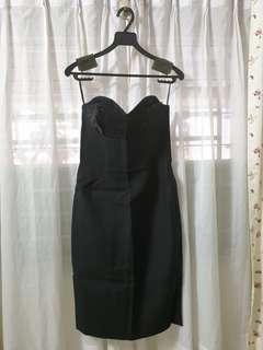 Brand New H&M Black Dress