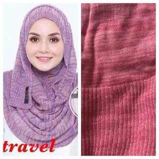 Instant travel Tudung hijab
