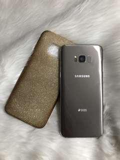 Authentic Samsung Galaxy S8 Plus 64G Gold Duos