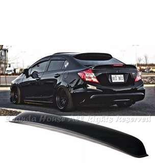 Honda Civic FB 9th gen roof spoiler