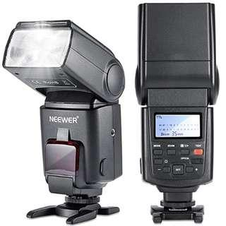 P10 Neewer® NW680/TT680 Speedlite Flash E TTL Camera Flash *High-Speed Sync* for Canon 5D MARK 2 6D 7D 70D 60D 50DT3I T2I and other CANON DSLR Cameras