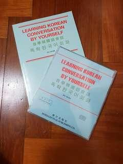 Learning korean  with CD