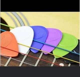 Cheapest colourful guitar picks