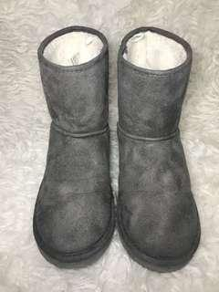 H&M Divided Grey Fur Boots sieze 39