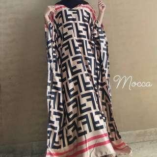 Kaftan Abaya Baju Dress