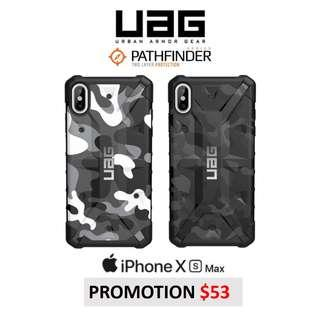 UAG Pathfinder Camo Series for iPhone Xs Max / XR / X / S9+