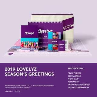 [Pre Order] Lovelyz - Season Greeting 2019