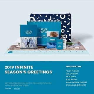 [Pre Order] Infinite - Season Greeting 2019