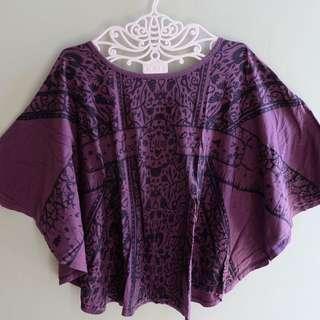 Lee cooper batwings blouse