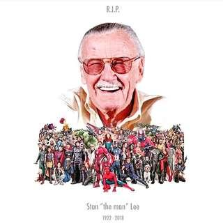 RIP Stan Lee (1922-2018)