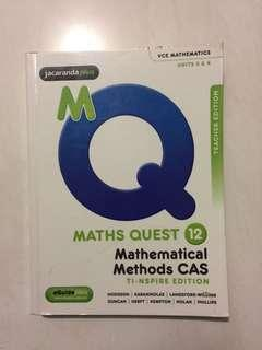 Maths Quest 12 worked solutions