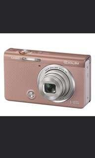 QYOP Casio Rose Gold Camera EX-ZR50