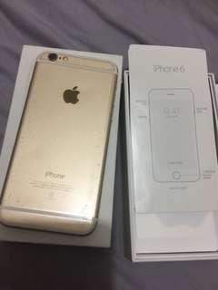 🚚 I phone 6 64G 盒裝
