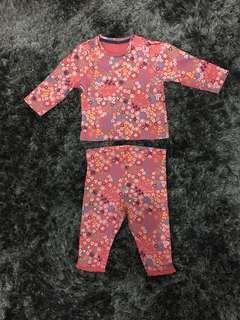 Mothercare set ( baju bayi )