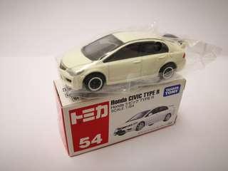 Tomy Tomica 54 Honda Civic Type R 絕版