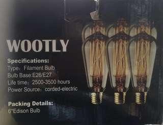 Edison Type Light Bulb